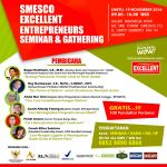 Seminar Excellent SEMINAR  GATHERING NOVEMBER 2016 smesco november 2016